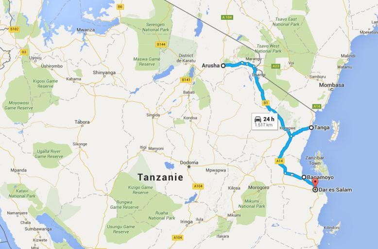 itineraire-tanzanie